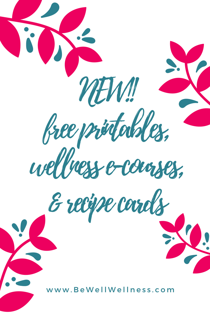 More Announcements: Free printables, another e-course, & recipe cards